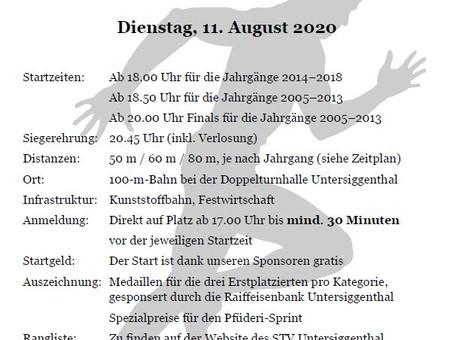 DSU neu am 11. August 2020