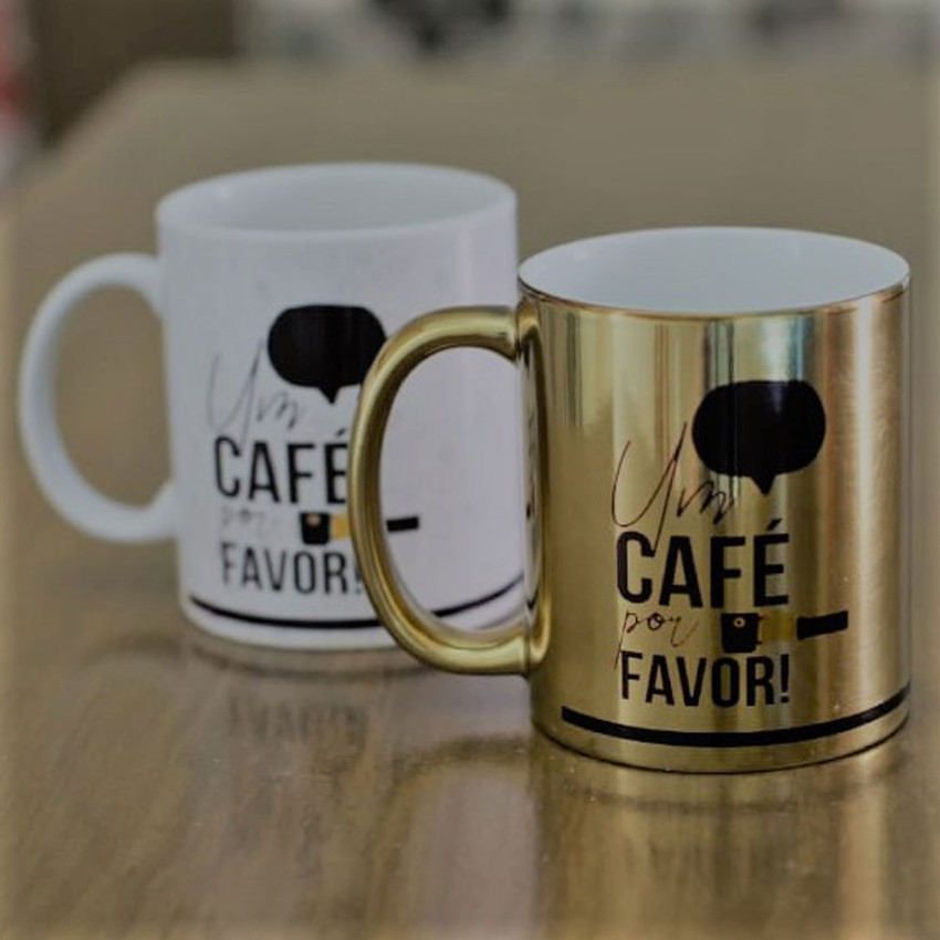 Caneca - Um Café por Favor!