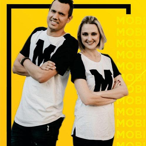 Camiseta M - Mobi Brasil - Masculina