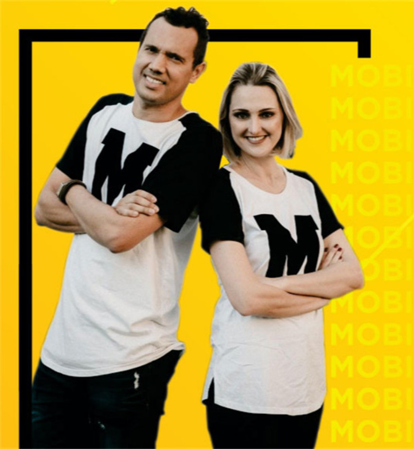 Camiseta M - Mobi Brasil
