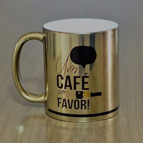CANECA UM CAFÉ POR FAVOR