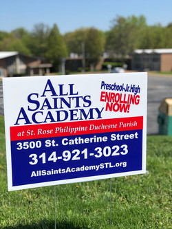 Now Enrolling All Saints Academy