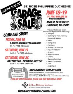 Garage Sale 2021