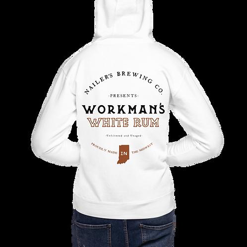 Workman's White Rum Hoodie