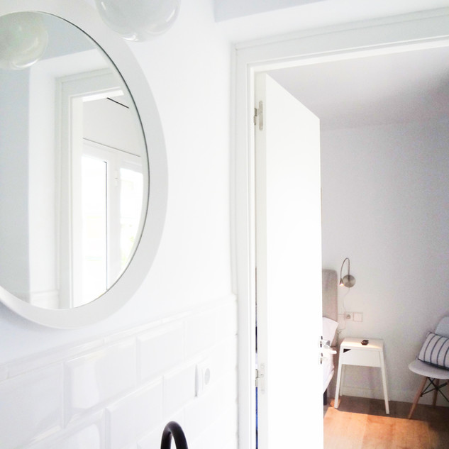 View from bathroom of our Doble Room With Additional Comfort