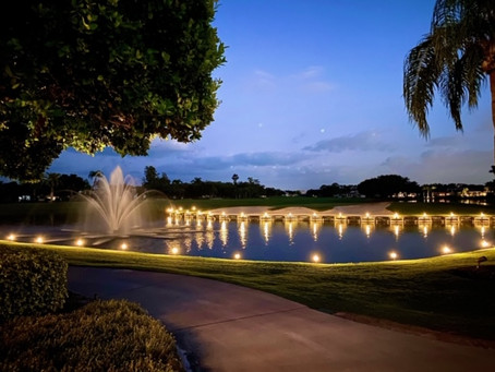 Fiddlesticks Country Club: Landscape Lighting