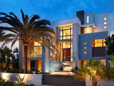 Bay House: Landscape Lighting