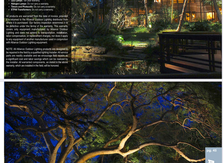 Alliance Outdoor Lighting: Magazine Feature