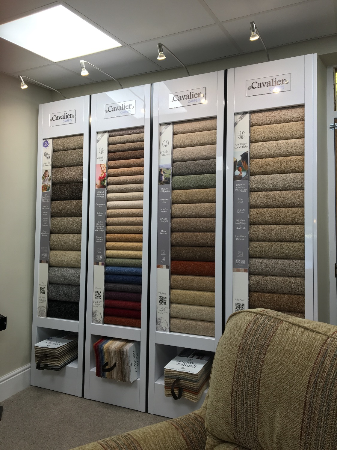 Cavalier Carpets at The Byrom Group
