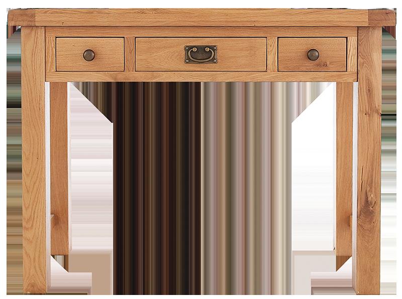 Sherwood Oak 3 Drawer Dressing Table