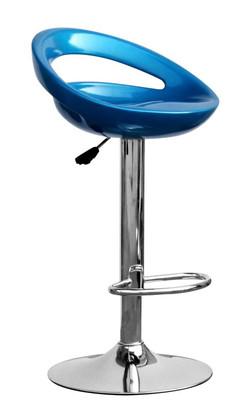 Kendal Metallic Blue Bar Stool