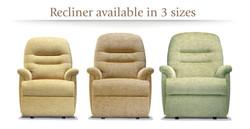 Keswick Recliners 3 sizes