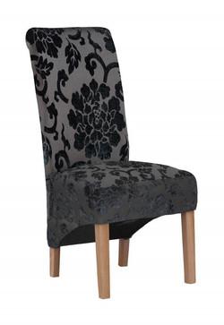 Krista Baroque Black Dining Chair