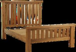 """Sherwood Oak 4'6"""" Bed"""