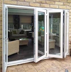 uPVC Bi-Folding Door