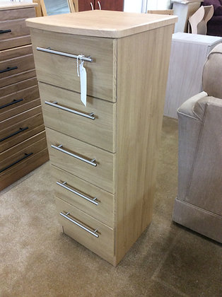 5 Drawer Tall Slim Chest