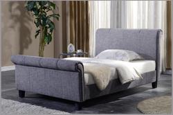 Brynford Sleigh - Fabric Bed