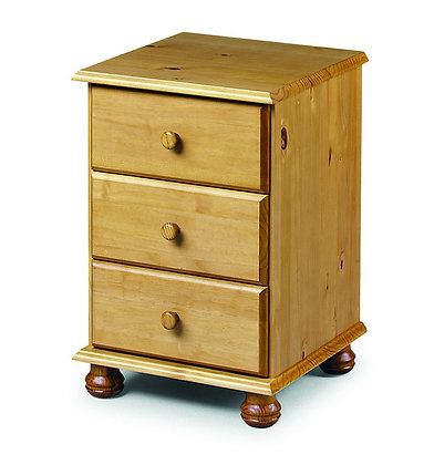 Pickwick Bedside Chest 3 Drawer