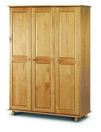 Pickwick 3 Door Wardrobe - Fitted