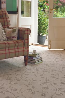 Ulster Natural Choice Tapestry Natural - Close Up