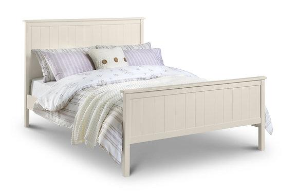 Harmony Bed Stone White 150cm