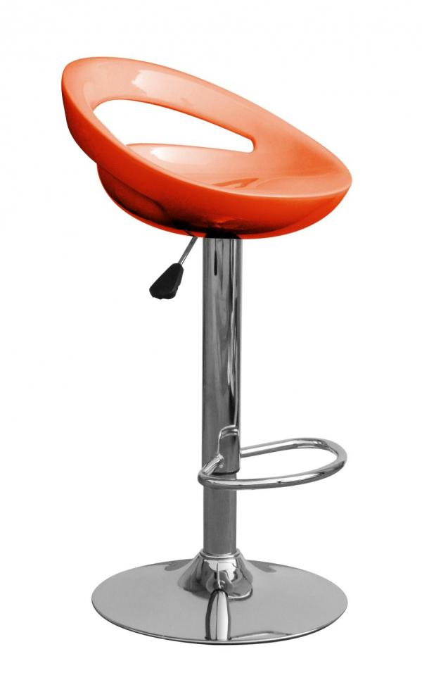 Kendal Orange Bar Stool