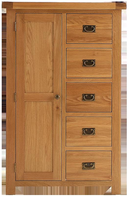 Sherwood Oak Combi Wardrobe
