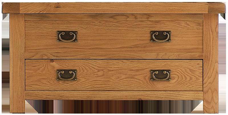 Sherwood Oak Blanket Box
