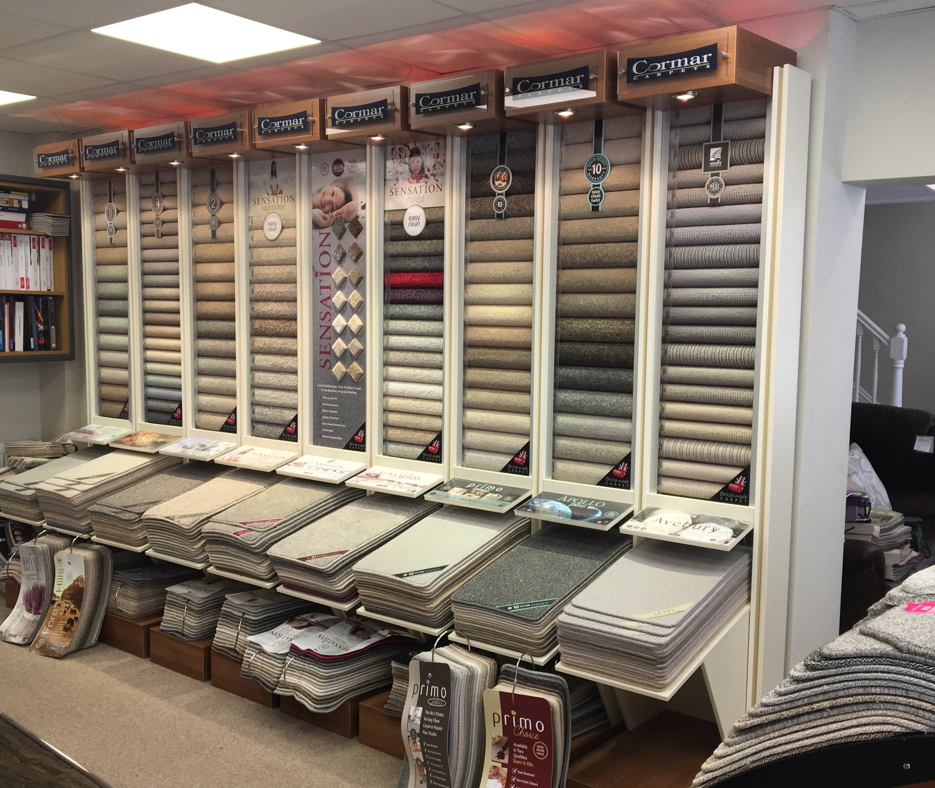 Cormar Carpets at The Byrom Group