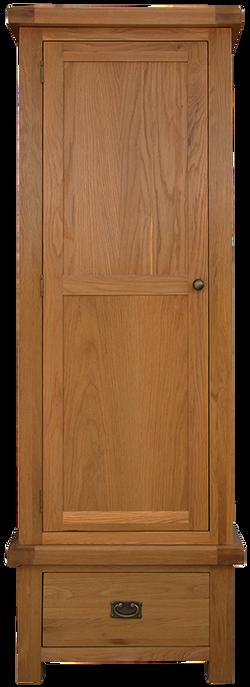 Sherwood Oak Single Wardrobe