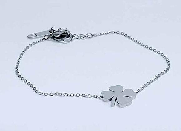 Armband Kleeblatt Silber