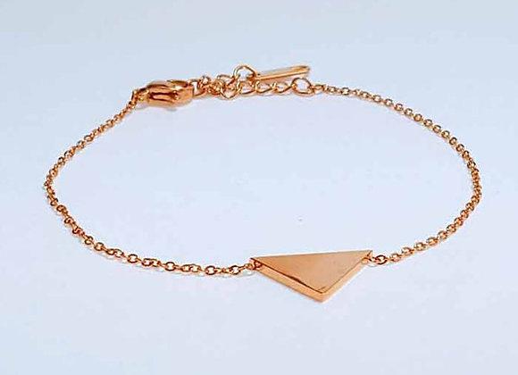Armband Dreieck Gold