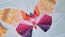Schmetterling mit der Methode Paper Piecing genäht