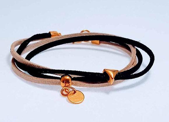 Armband aus Wildleder