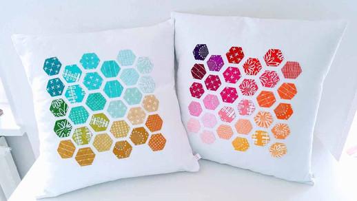 Hexagon-Kissen