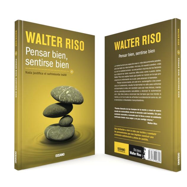 """Realización de la portada """"Pensar bien, sentirse bien"""", del autor Walter Riso, de Editorial Océano."""
