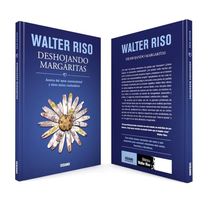 """Realización de la portada """"Deshojando margaritas"""", del autor Walter Riso, de Editorial Océano"""
