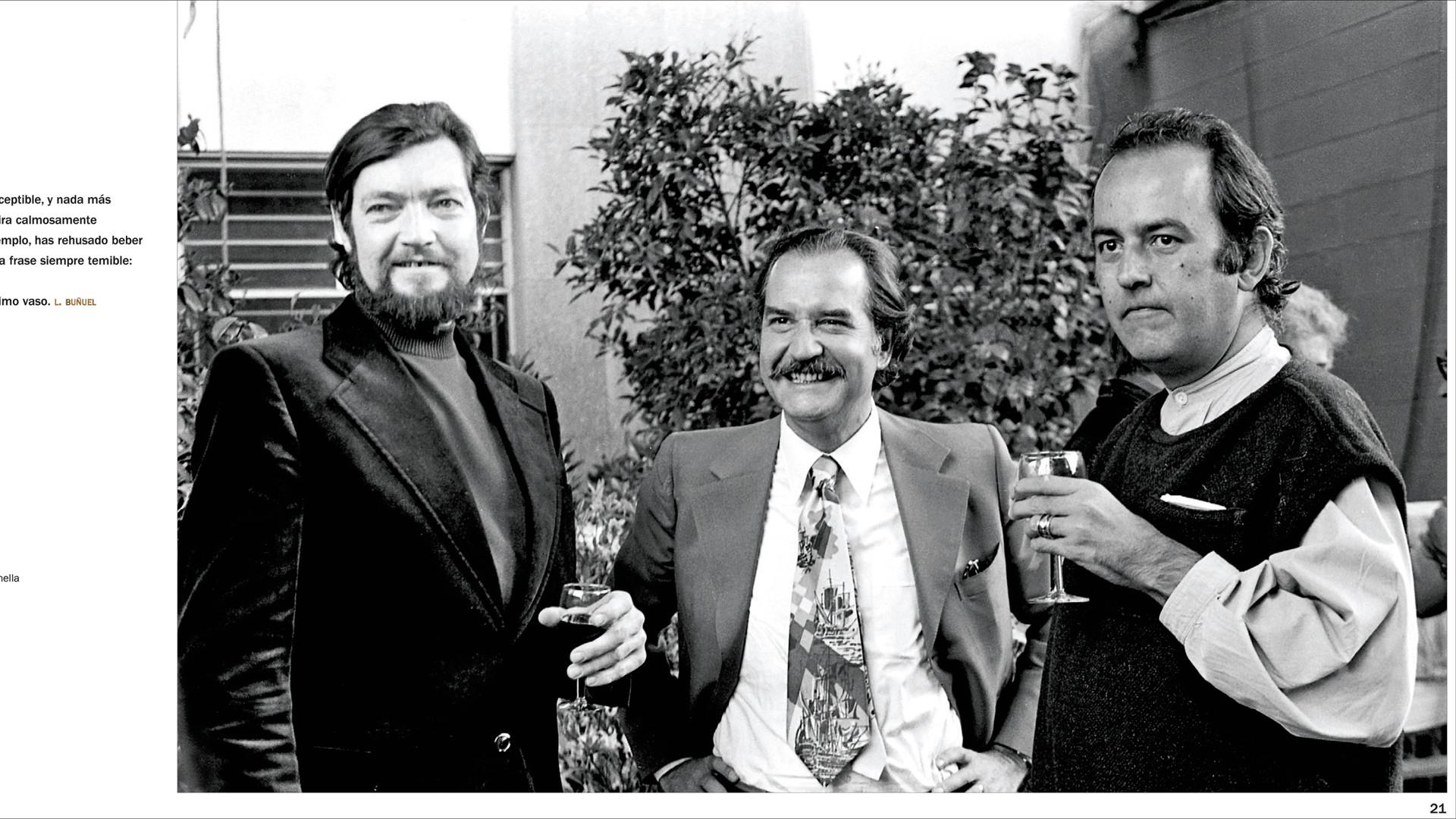Un momento increíble en el que coincidieron Carlos Fuentes, Julio Cortázar, García Márquez y muchos más