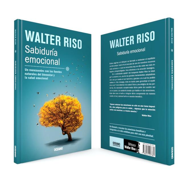 """Realización de la portada """"Sabiduría emocional"""", del autor Walter Riso, de Editorial Océano"""
