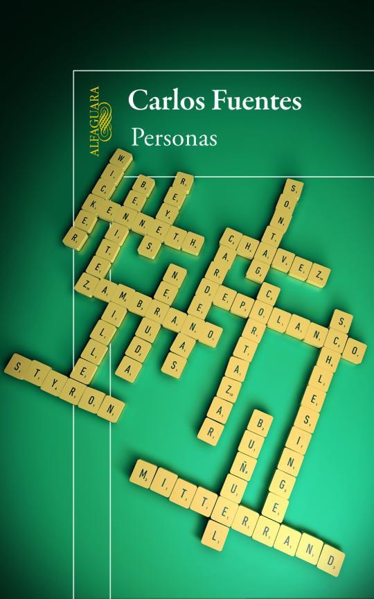 """Realización de la portada """"Personas"""", del autor Carlos Fuentes, Editorial Alfaguara."""