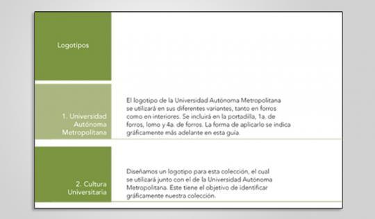 Rediseñamos para la Universidad Autónoma Metropolitana la colección de ensayo académico Cultura Universitaria