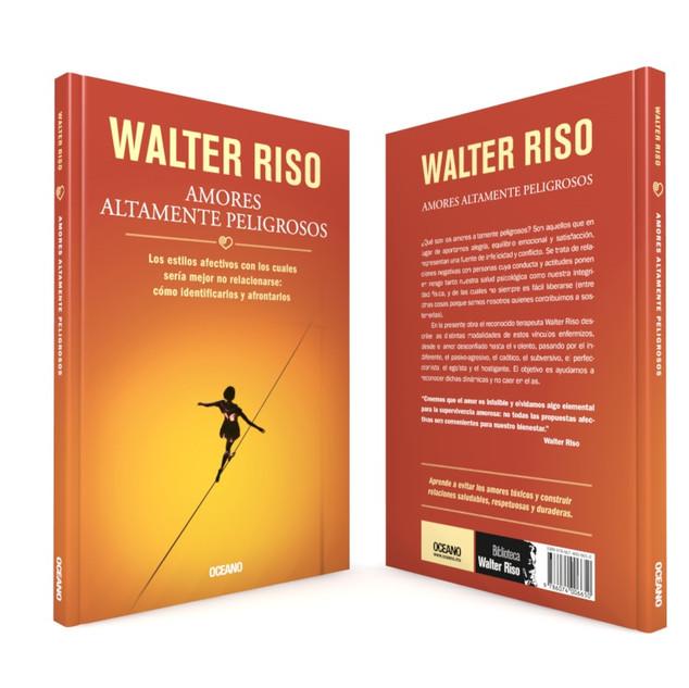 """Realización de la portada """"Amores altamente peligrosos"""", del autor Walter Riso, de Editorial Océano."""