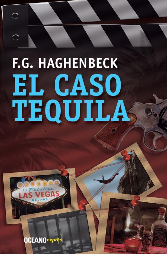 """Realización de la portada """"El Caso Tequila"""", del autor F. G. Haghenbeck; Océano Exprés."""