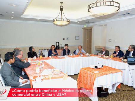 ¿Cómo podría beneficiar a México la guerra comercial entre China y USA?
