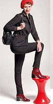 Pantalon noir carreaux MERI ESCA.jpg