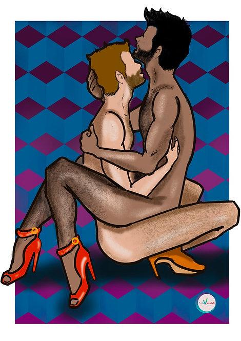 Tacones Illustration - Om