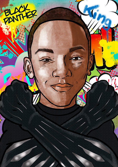 Portrait Illustration Style -  1 Person