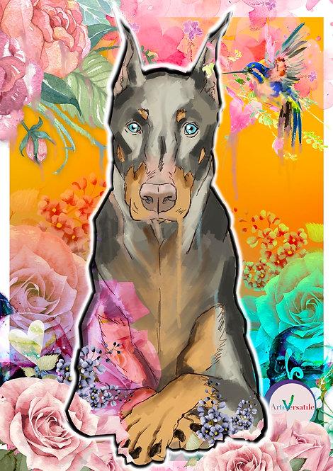 Dog - Pop Art Style