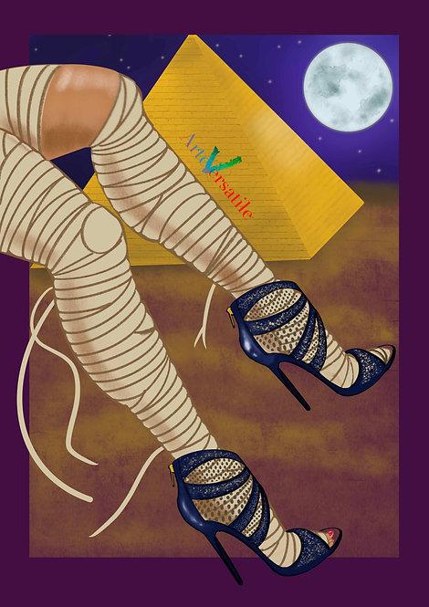 Tacones Illustration - Halloween Collection