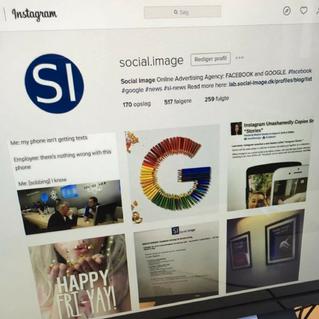 Social Image på Instagram